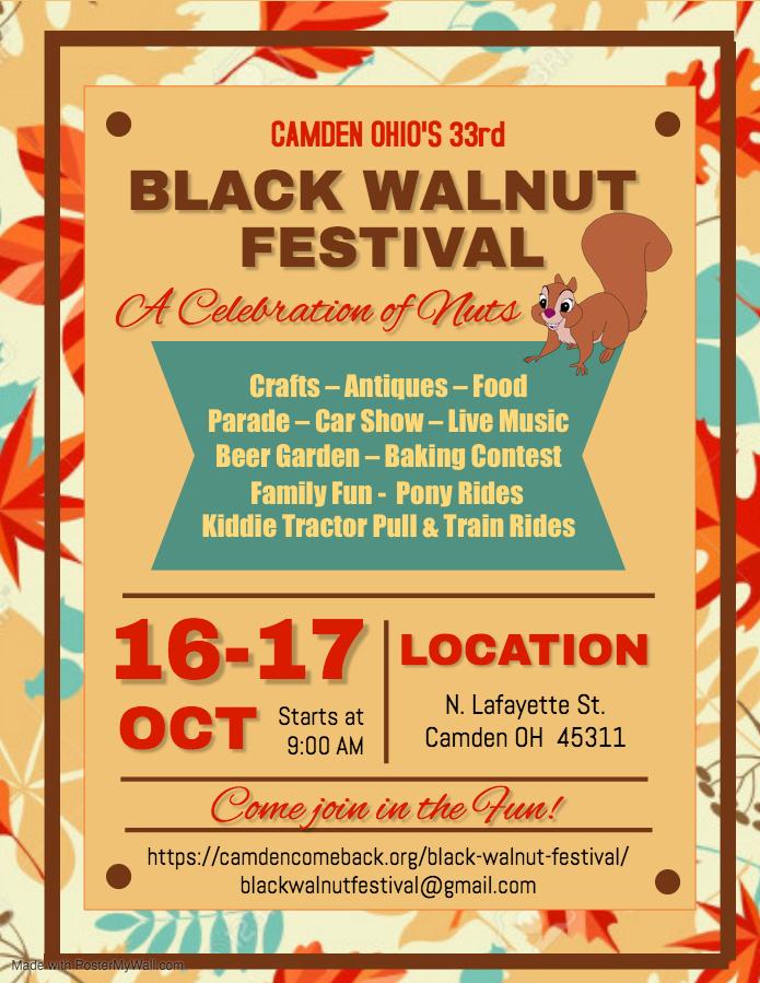 2021 Black Walnut Festival @ Street Festival