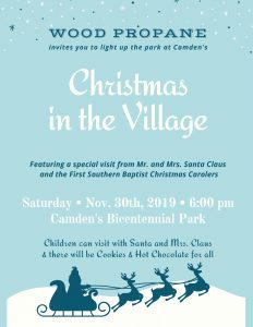 Christmas in the Village @ Camden Bicentennial Park