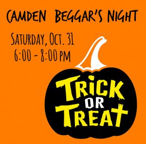 Camden Trick or Treat @ throughout town
