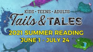 Tails & Tales! Summer Reading Program continues this week - June 1-July 24 @ Camden Public Library