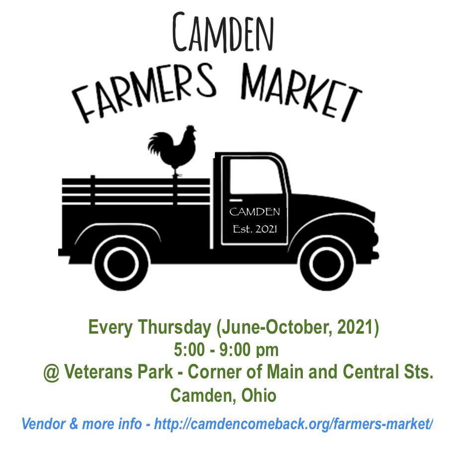 Camden Farmers Market @ Veterans Park