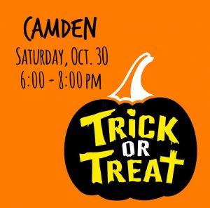 Camden Trick or Treat @ Town of Camden