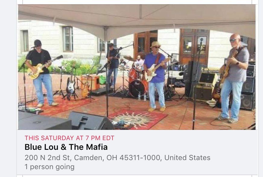 Blue Lou & The Mafia Concert @ American Legion - Post 377
